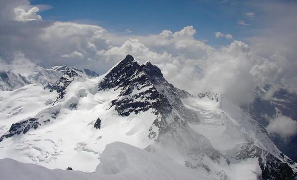 Jungfrau from Moench
