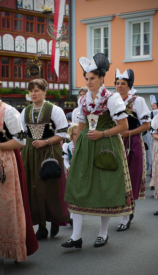 Frohnleichnahmsprozession; Appenzell; Switzerland