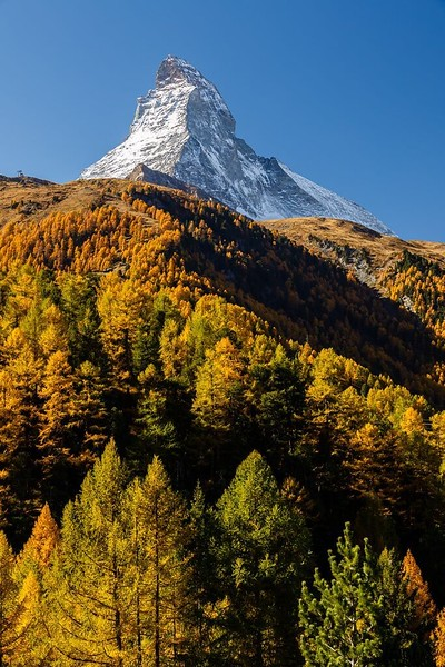 The Matterhorn on October 16, 2017