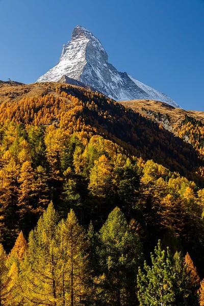 The Matterhorn on October 16, 2017
