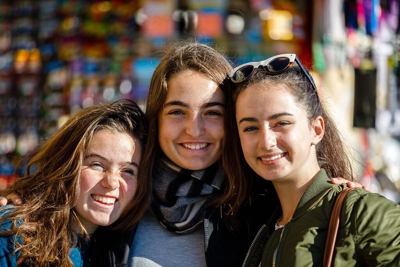 Sophia, Liz, and Ivy