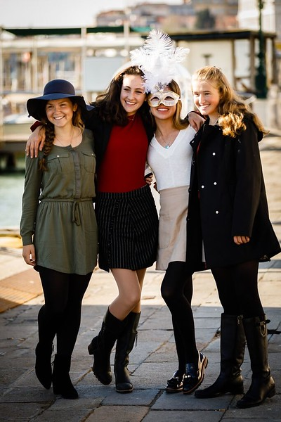 Samantha, Caroline, Shea, and Lily