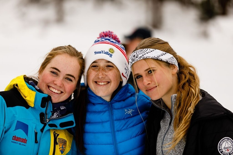 Annika, Bailes, and Sarah (New York in Zermatt)