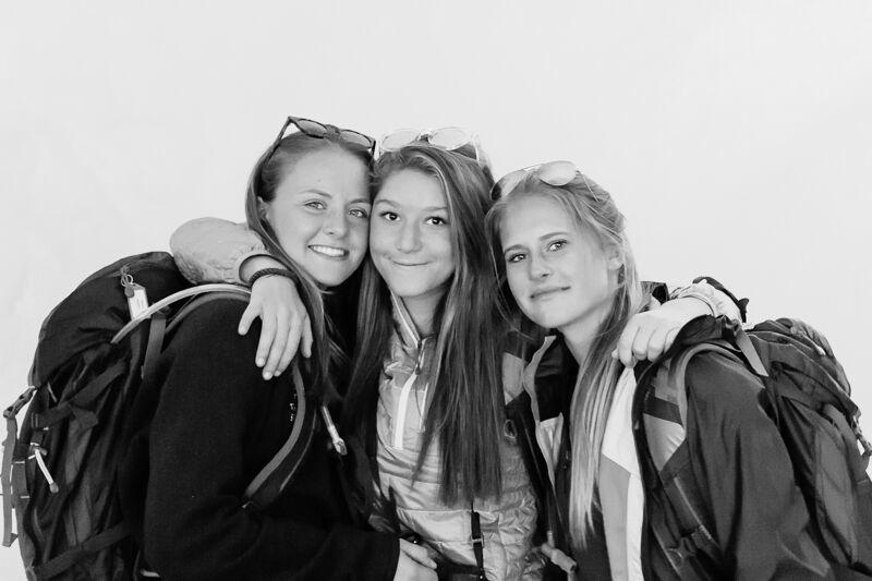 Alana, Emma, and Sarah