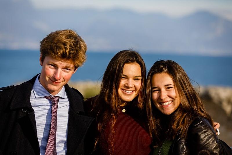Josh, Dasha, and Flavia