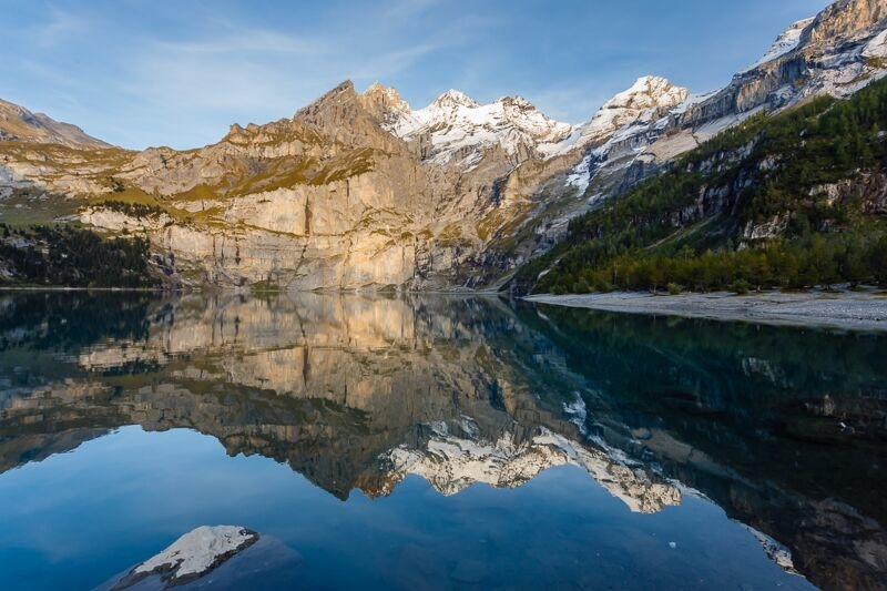 Oeschinensee (just above Kandersteg)