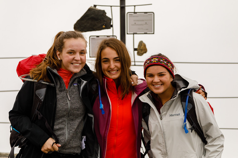 Jordan, Liz, and Sophia at Rothorn