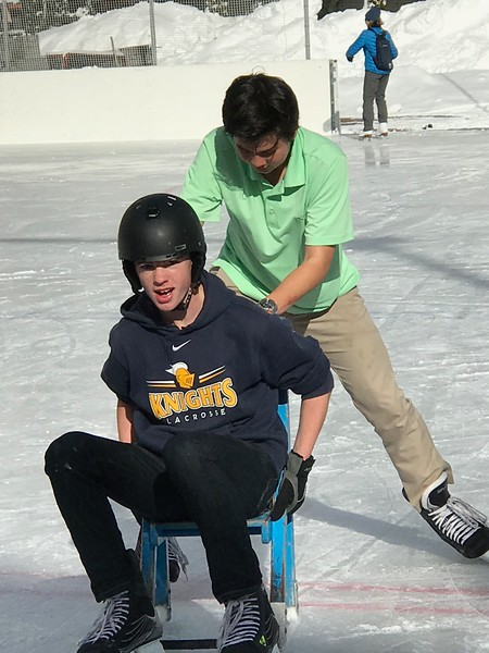 Mattias pushing Ryan