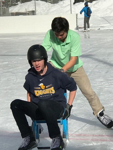 Mattias pushing Ryan