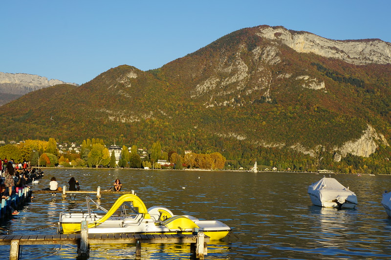The weather and views were spectacular in and around Lake Annecy