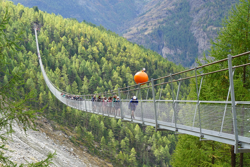 The longest suspension bridge