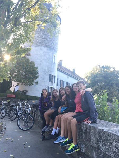 Vineyard bike trip with Ms. Leperi