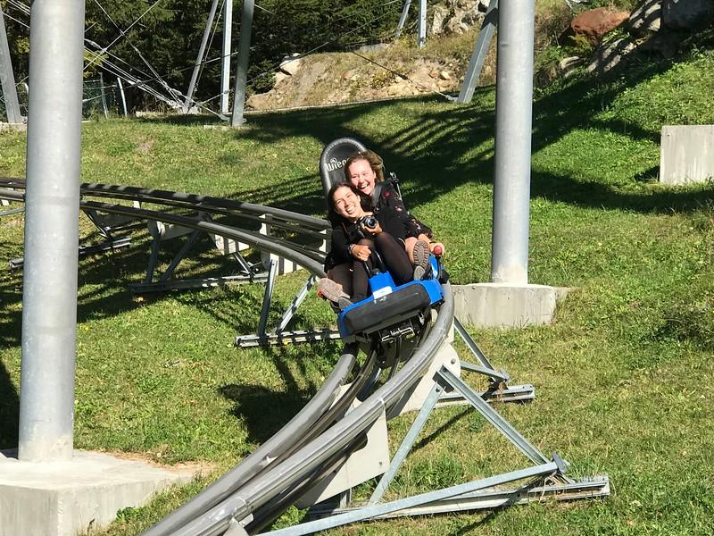 Francesca and Amanda