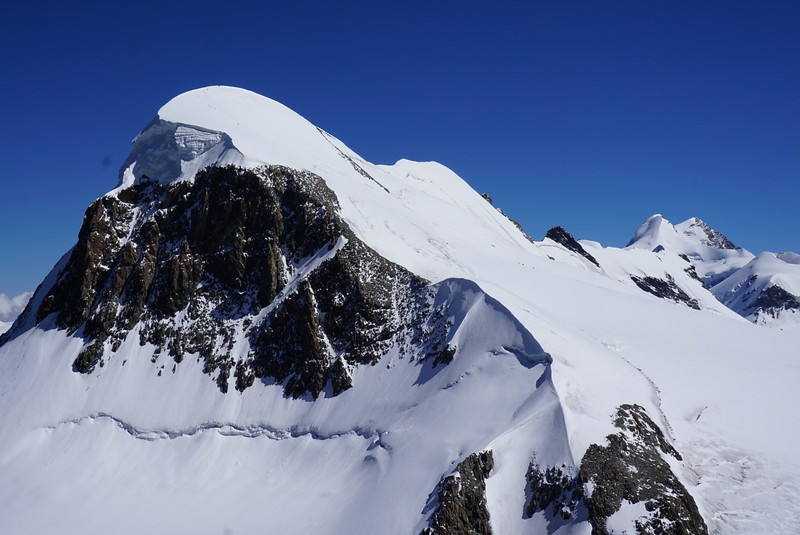 Breithorn where we hope to be atop next week