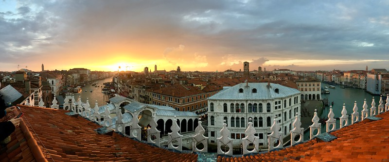 One last picture from Venice at sunset