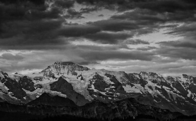 Bernese Alps (Switzerland) view from Habkern-Läger - july 2011