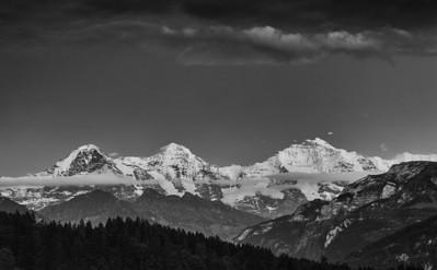 Bernese Alps (Switzerland) view from Beatenberg - june 2011