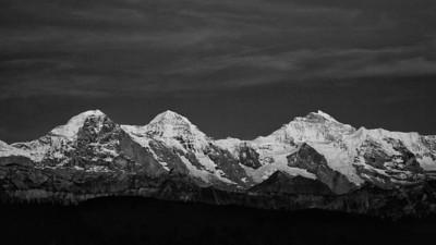Bernese Alps (Switzerland) view from Habkern-Läger - june 2011