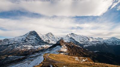 Eiger North Face, Mönch, Jungfrau