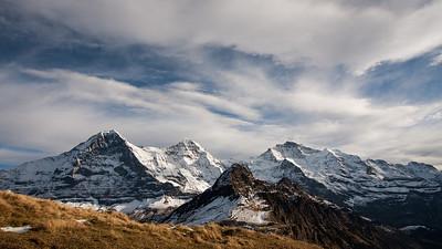 Eiger North Wall, Mönch, Jungfrau