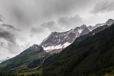 Gletscherspitza, Lonzahörner, Breithorn, Breitlauihorn