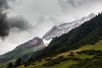 Gletscherspitza, Lonzahörner, Breithorn