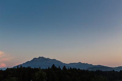 Sunset - Buchrain, Vogelsang