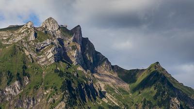 Matthorn, Esel, Oberhaupt, Klimsenhorn (v.l.n.r.)
