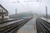 Rigi Railway Trailer 24 & No 14, leaving Rigi Staffel station for Arth-Goldau, Mon 15 June 2015.