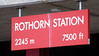 Rothorn station sign. Brienz Rothorn Rly, 20 June 2004.