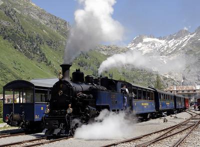 Furka Mountain Steam Railway (DFB), Switzerland, 2006