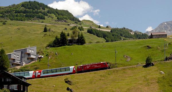 Swiss trains
