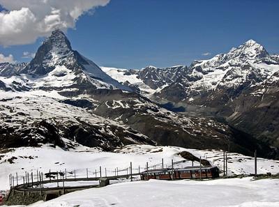 Gornergrat Railway, Switzerland, 2004