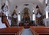 Wassen church, Wed 5 July 2006 1.  The interior.