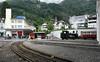 Rigi Railway roundhouse and station, Vitznau, Mon 15 June 2015