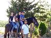 Me, Antonella, Lucio, Alessandro, Salvatore and Mara the cavallo.