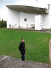 The chapel of Notre Dame du Haut (Ronchamp, France) by Le Corbu