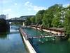 Schwimmbad Unterer Letten - Zurich, Switzerland