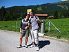 Hiking near Flims. Canton Graubünden, Switzerland.
