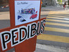 Our neighborhood Pedibus Stop (each school organizes their own system)
