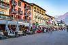 The town of Ascona on Lake Maggiore, Ticino, Switzerland, Europe.