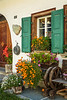 Storefront in the village of Sils Maria, Engadine Valley, Gaubunden, Switzerland, Europe.