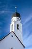 The village church in Fuldera, Switzerland, Europe.