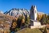 Church of San Gian, in Celerina, Engadin, Graubunden, Switzerland, Europe.