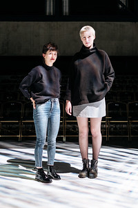 Margot Jud and Zoé Marmier, HEAD students