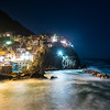 Night at Manarola