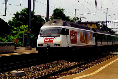 460 021 at Morges on 13th June 2003