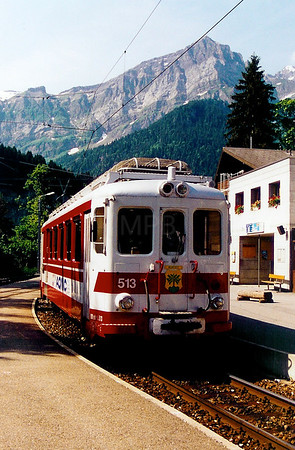AOMC, 513 at Champery on 12th June 2003