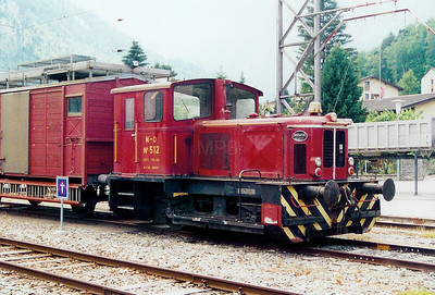 MO, 512 at Orsieres on 12th June 2003