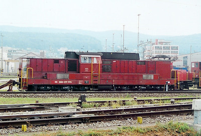 18521 at Limmattal Yard on 6th September 2003